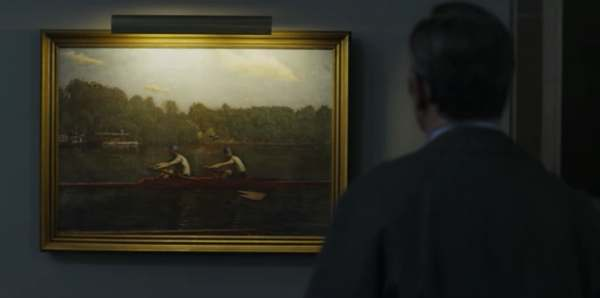 House of Cards - Impressionist Rowers